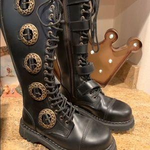 Demonia Black Boots